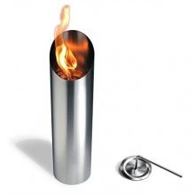 Feuerkorb aus Edelstahl, Bio Ethanol Brenner Bild 1