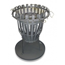 Hergestellt für DEMA Feuerkorb höhenverstellbar  Bild 1