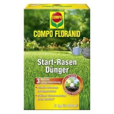 Compo Floranid Start-Rasendünger, 5 kg für 200 m2 Bild 1