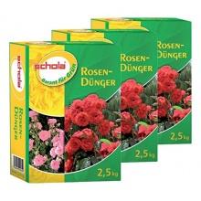 Schola Rosendünger, 3er Pack. (3 x 2,5 KG) Bild 1