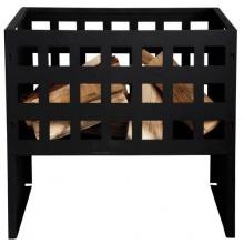 Esschert Design Feuerkorb, Feuerstelle, rechteckig in schwarz Bild 1