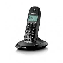 Motorola C1001L Digitales DECT-Schnurlostelefon schwarz Bild 1
