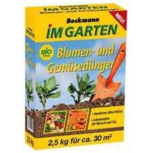 Beckmann Universaldünger und Gemüsedünger 2,5 kg Bild 1
