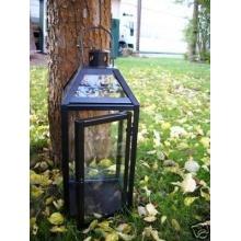 Außenlaterne Windlicht, Echtglas von kuheiga Bild 1