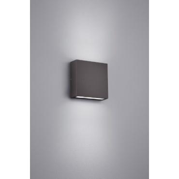 trio leuchten led au en wandleuchte aluminiumguss test. Black Bedroom Furniture Sets. Home Design Ideas