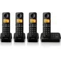 Philips D2154B/38 Schnurlostelefon mit Anrufbeantworter  Bild 1