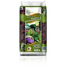 40 Liter Premium Bio Blumenerde,Torffrei,Florasan Bild 1
