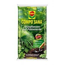 Compo Blumenerde Sana grünpflanzen und Palmenerde, 5 L Bild 1