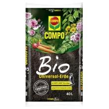Compo Blumenerde Sana Universalerde Bio Torffrei 40 L Bild 1