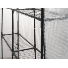 Gartenfreude Folien Gewächshaus inklusive 8 Regalen Bild 1
