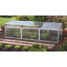 Pergart Frühbeet Gaia 3x, 180 x 50 cm, 3 Dachfenster Bild 1