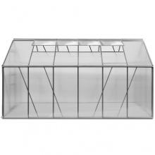 Gewächshaus Aluminium 7,22m2 380 x 190 cm von DEUBA Bild 1