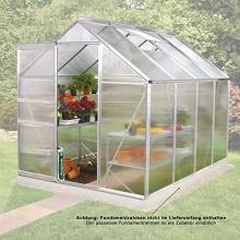 Gewächshaus V-5000 Alu 5,0 m2 mit HKP von Gartenpirat Bild 1