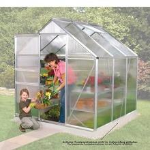 Gewächshaus V-3800 Alu 3,8 m mit HKP von Gartenpirat Bild 1