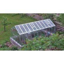 TOP Gewächshaus mit Glas stabil 3,03 x 6,01 m Bild 1