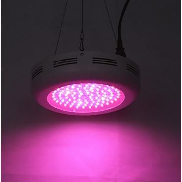 galaxyhydro ufo led grow light 180w pflanzenlampe test. Black Bedroom Furniture Sets. Home Design Ideas