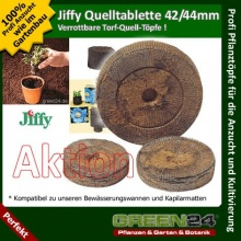 20 St. Jiffy von GREEN24 Original Quelltabletten  Bild 1