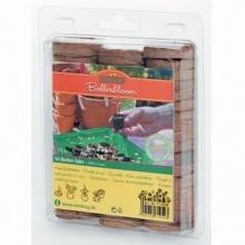 50 Stück Kokos-Quelltabletten,Gartengruen24 Bild 1