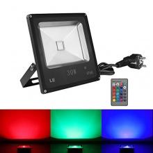 LE 30W RGB Flutbeleuchtung,Fernbedienung,Lighting EVER Bild 1