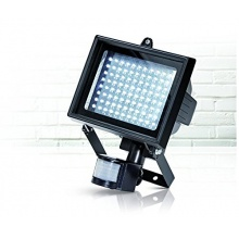 LED Flutbeleuchtung mit Bewegungsmelder 96 LED,NPH Bild 1