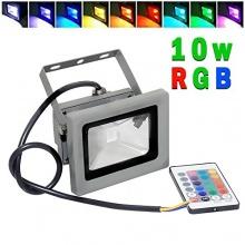 Goodia 10w RGB 16 Farben LED Flutbeleuchtung  Bild 1