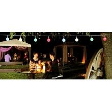 LED PARTYLICHTERKETTE 10m BUNTE LEDs 50er Coen Bakker Bild 1