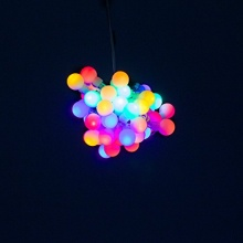 Plaights LED Lichterkette 50 LED,draußen u drinnen Bild 1