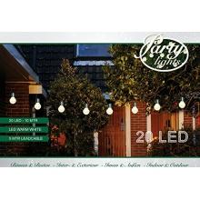 LED PARTY LICHTERKETTE 10m,20 WEIßE LEDs, Coen Bakker Bild 1