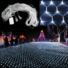 SOLMORE 4.2m x 1.6m 300 LED Net Schnur Lichterkette  Bild 1