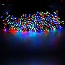 22m 200 LED Lampen Solar LED Lichterkette von GRDE Bild 1