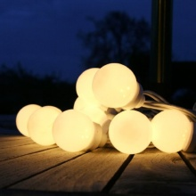 10er LED Party Lichterkette 5m Typ C Lights4fun Bild 1