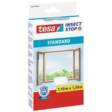 tesa Fliegengitter f Fenster, Moskitoschutz,1,1mx1,3m Bild 1