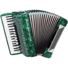 Weltmeister Piano Akkordeon Opal grünperloid Bild 1