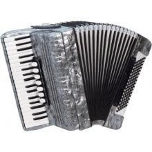 Weltmeister Piano Akkordeon Opal grauperloid Bild 1