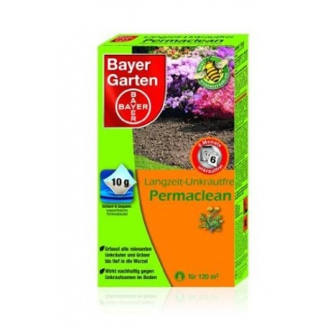 bayer langzeit unkrautvernichter permaclean 120 g test. Black Bedroom Furniture Sets. Home Design Ideas