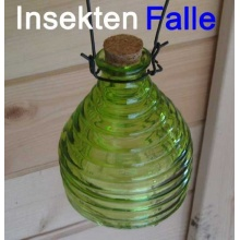 Insektenfalle Glas,Wespen Falle,Wespenabwehr (LHS) Bild 1