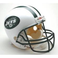 New York Jets Replica Full Size Helmet Bild 1
