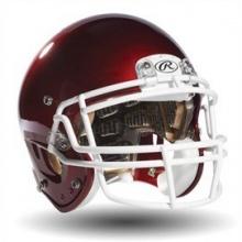 Rawlings QUANTUM Adult Football Helmet XL Maroon Bild 1
