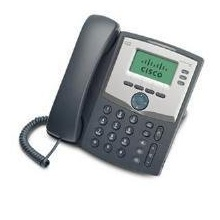 CISCO 3 Line IP Phone with Display and PC Port Bild 1