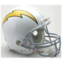San Diego Chargers Replica Full Size Helmet Bild 1