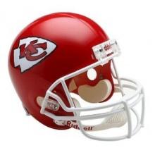 Kansas City Chiefs Replica Full Size Helmet Bild 1