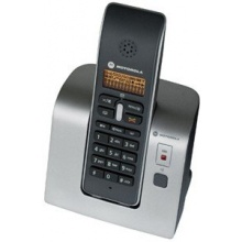 Motorola D201 Schnurlostelefon silber/schwarz Bild 1