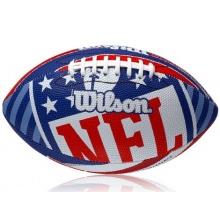 Wilson Football NFL Logo, Royal/Weiss, Junior Bild 1