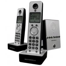 Motorola D712 Twin Schnurloses DECT-Telefon mit zusätzlichem Mobilteil Bild 1