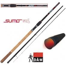 DAM Sumo GT4 Method Feederrute,3.90m 75-150g, 3+3 tlg Bild 1