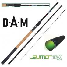 DAM Sumo TRX Carp Feeder, Feederrute,3.60m,3+3 tlg Bild 1