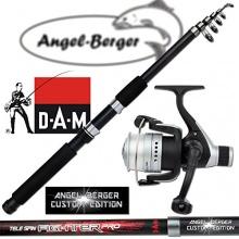 DAM Angelset Teleskoprute und Rolle Angelshop Berger Bild 1