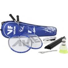 VICFUN Badminton Set Advanced Mit Netz Blau One size Bild 1