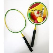 Badmintonset Kind 2 Schläger 1 Federball 1 Softball  Bild 1