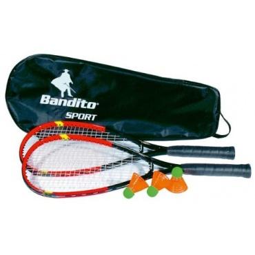 bandito speed badminton schl ger set inkl tasche test. Black Bedroom Furniture Sets. Home Design Ideas